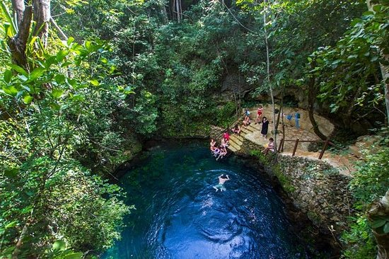 Cenotes Zapote Ecopark from Cancun