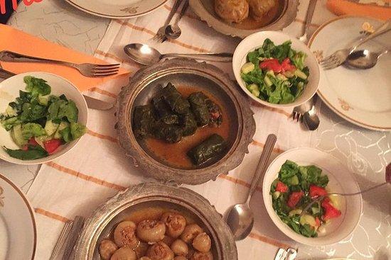 ボスニアの家族との夕食
