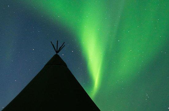 Excursión en Glamping aurora boreal
