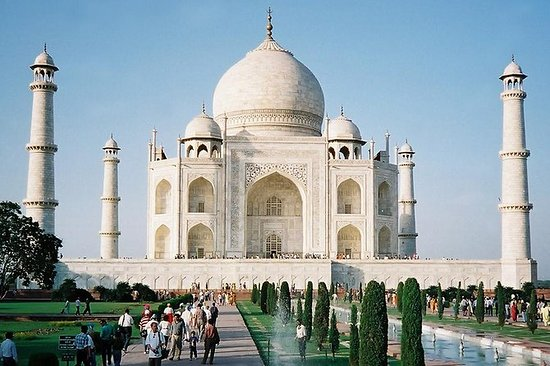 Agra City Tour med Guide och Tempo ...