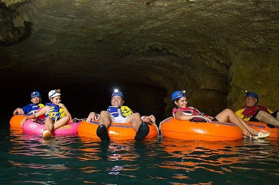 Cave Tubing & ZipRider Adventure with...