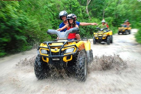 Adrenaline day in Cancun with Atvs...