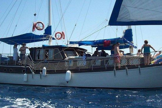 12 viagem da ilha de barco à vela de...