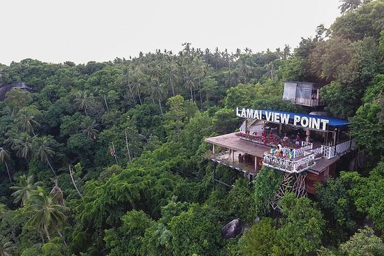 Lamai Viewpoint Zip lining with Cable...