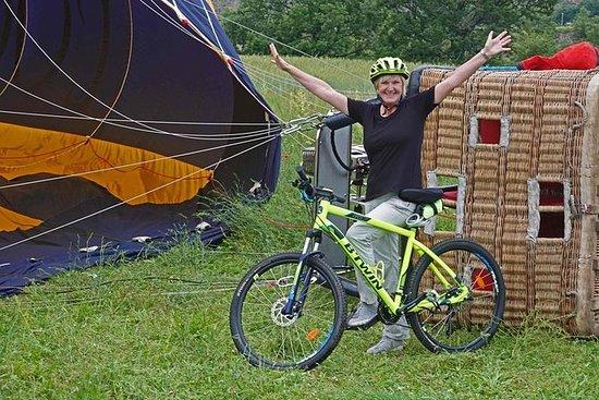 E-sykkel og ballongtur