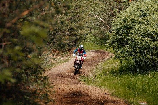 Single Track motorsykeltur