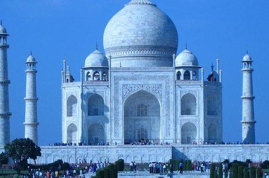Privat Agra Taj Mahal Overnatningstur...