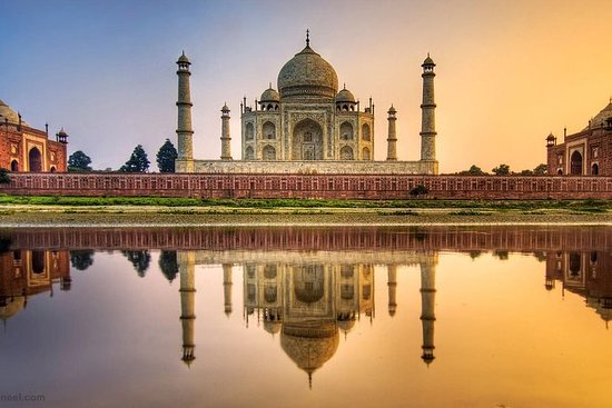 Same Day Agra Excursion By Train From...