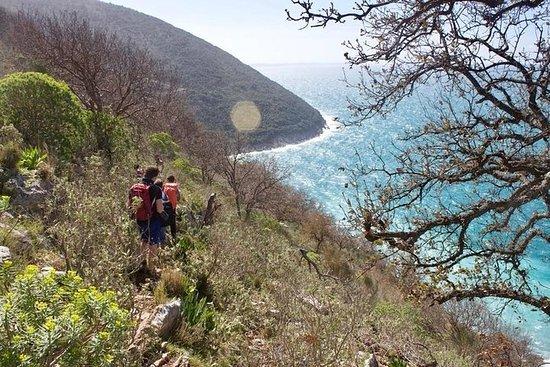 Hiking and Snorkeling in Krorez Bay...