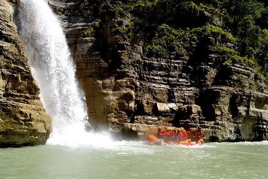 Rafting in the Osumi Canyons Skrapar...