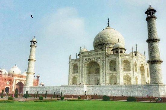 Am selben Tag Besichtigung von Taj...