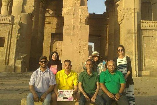 Zeilen op de Nijl cruise vanuit Aswan ...