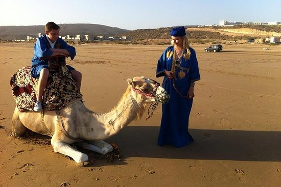 2 timer Sunset Camel Ride i Agadir