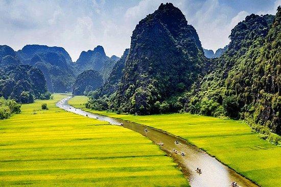 Ninh Binh Full Day - Barco a remo Tam...