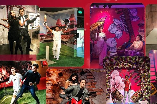 Madame Tussauds Delhi Admission Ticket