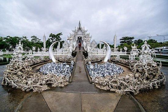 Fantastiske templer i Chiang Rai