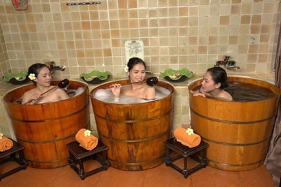 60分钟越南按摩和30分钟Dao Do People的草药浴