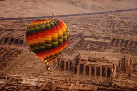 Hot Air Balloon Ride in Luxor,Egypt