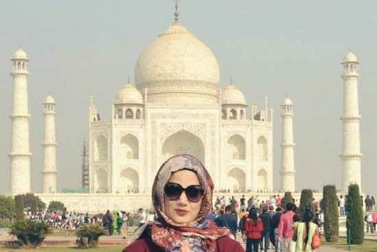 Private Tour am selben Tag Taj Mahal ...