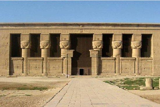 Dandara Temple og gamle grave fra...