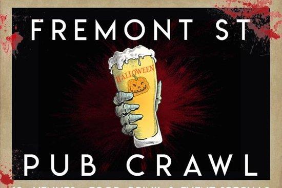 Fremont Street Dia das Bruxas Day Pub...