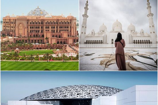 Grande mosquée d'Abou Dabi, musée du...