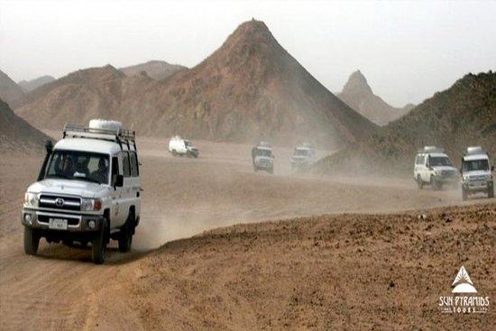 Day Tour to Hurghada Bedouin Desert Safari by Jeep in Egypt