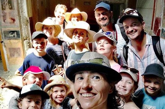 Tour privado para niños a Pompeya y...