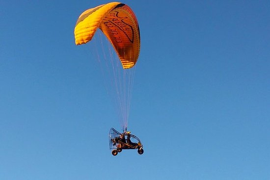 45 Paratrike flight over Maspalomas...