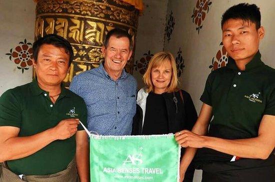 Tour privato di 7 giorni del Bhutan