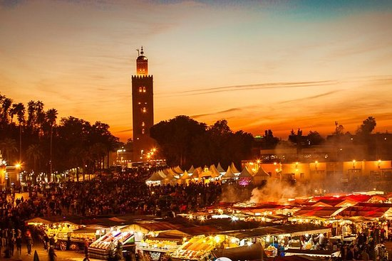 Mad Tour of Marrakech: Om natten...