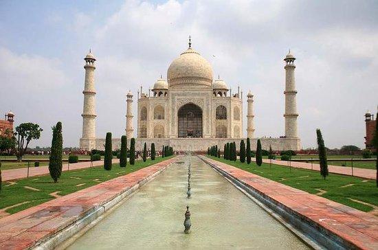 Viagem de um dia privado ao Taj Mahal e...