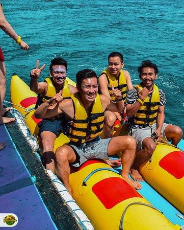 Banana Boat in Lembongan #day3