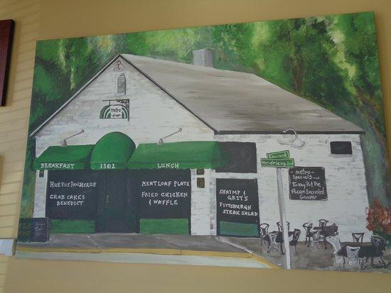 Metro Diner: Sign
