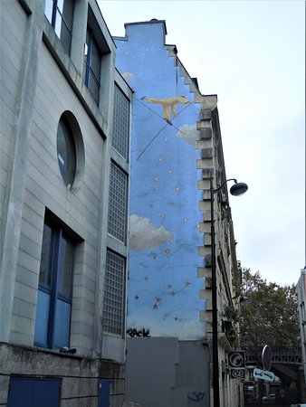 Fresque Le Funambule