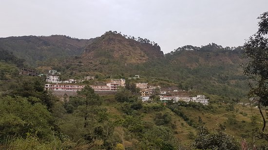 Hotel Uttaranchal Inn view from 1km from main state highway