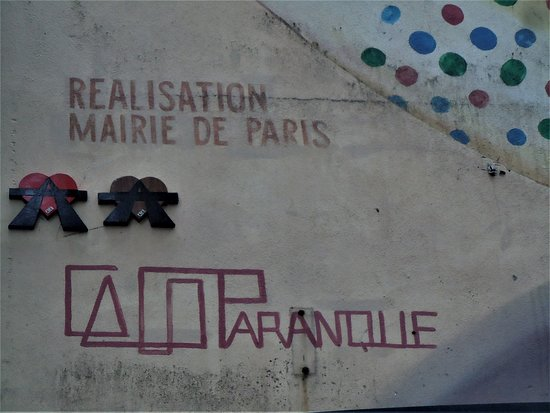 Fresque Le Drapé