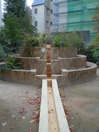 La grande fontaine à gradins