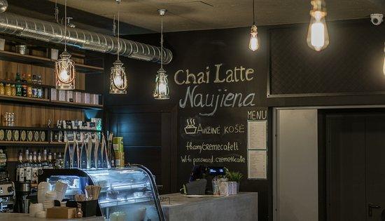 Visaginas, Litauen: Creme Cafe Design