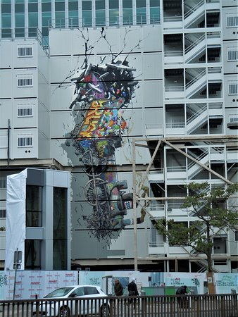Fresque Accident a la Gare Montparnasse