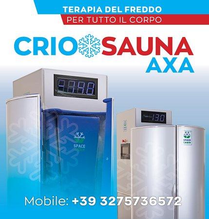 Criosauna Axa