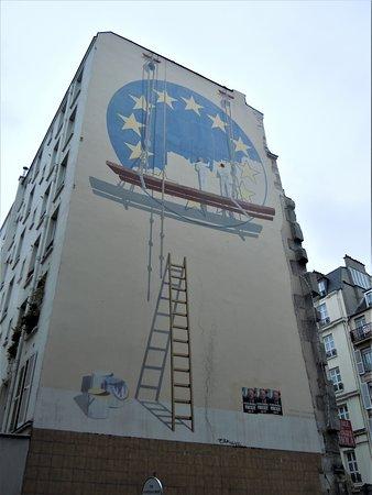 Fresque Les Peintres