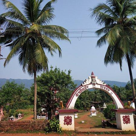 The entry to Mallikarjun temple