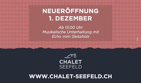 Буокс, Швейцария: Ab 1. Dezember 2018 geöffnet. Reservationen werden bereits jetzt gerne entgegen genommen.