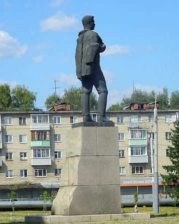 Monument to  Frunze
