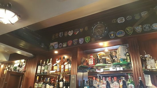 The Boar's Head : Patches an der Bar
