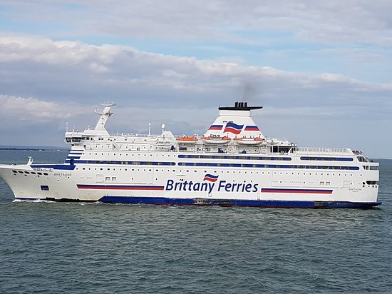 Brittany Ferries Route From Caen To Portsmouth