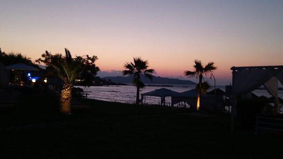 Atlantica Kalliston Resort: Glaros beach
