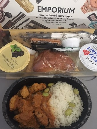 Thomas Cook Airlines (UK) [no longer operating] : In flight food