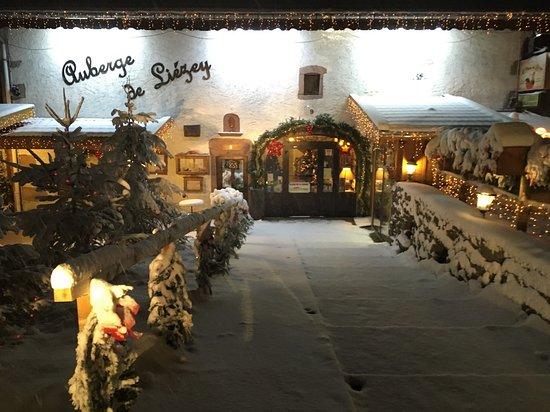 Bienvenue à l'Auberge de Liézey en hiver
